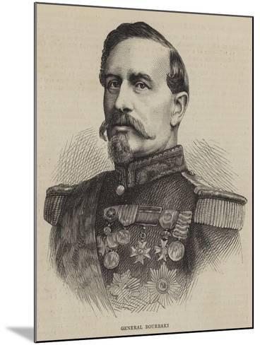 General Bourbaki--Mounted Giclee Print