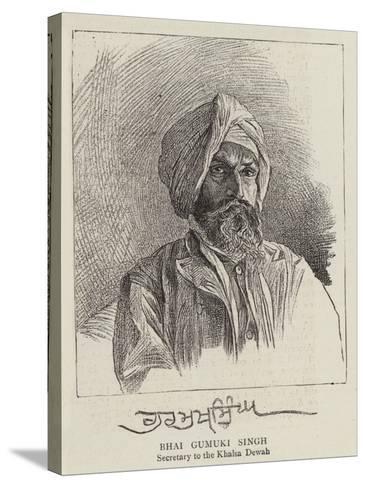 Bhai Gumuki Singh--Stretched Canvas Print