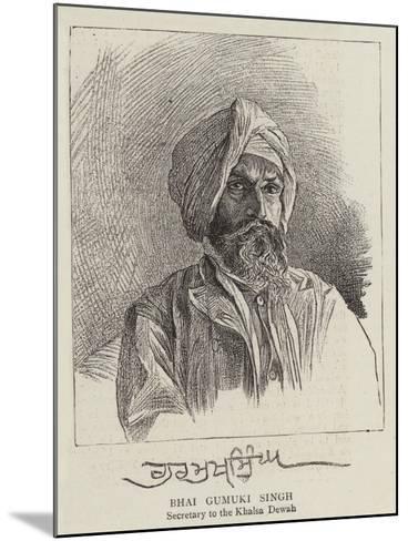 Bhai Gumuki Singh--Mounted Giclee Print