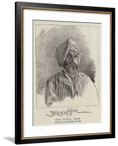 Bhai Gumuki Singh--Framed Art Print