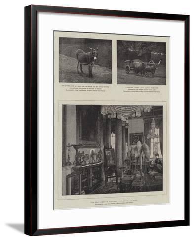 Sketches at Osborne--Framed Art Print