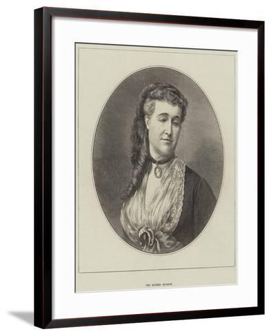 The Empress Eugenie--Framed Art Print