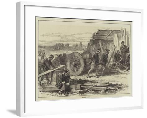 Japanese Workmen--Framed Art Print