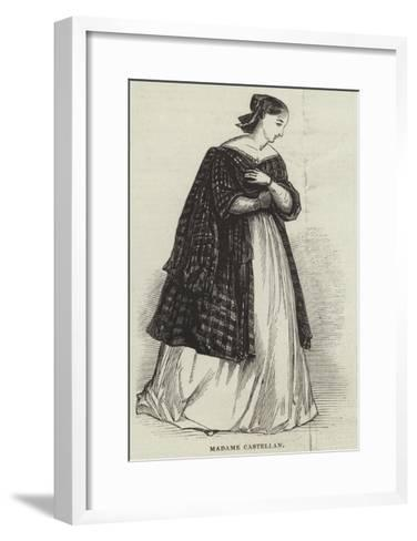 Madame Castellan--Framed Art Print