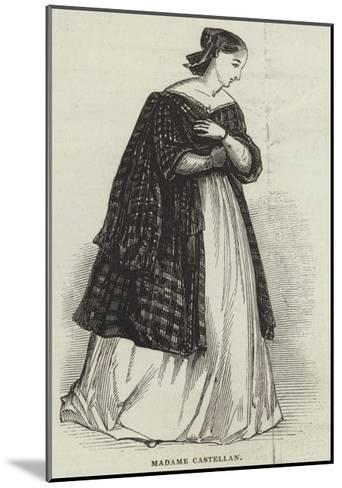 Madame Castellan--Mounted Giclee Print