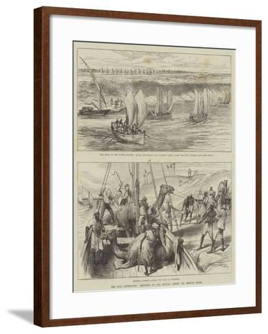 The Nile Expedition--Framed Art Print