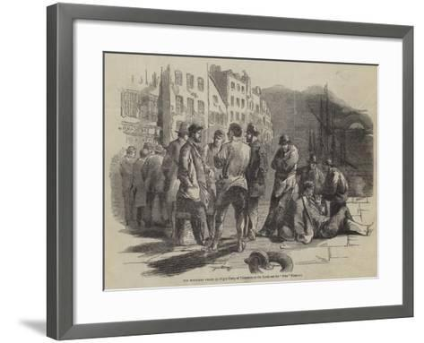 The Northern Strike--Framed Art Print