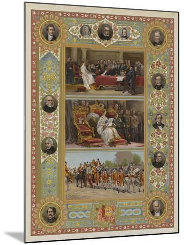 The Queen's Jubilee--Mounted Giclee Print