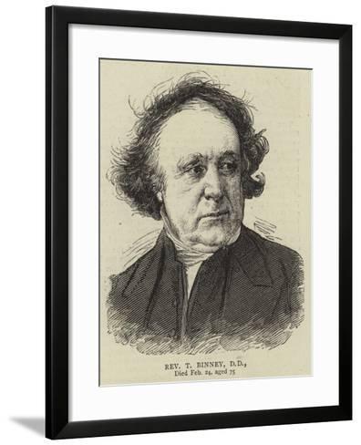 Reverend T Binney--Framed Art Print