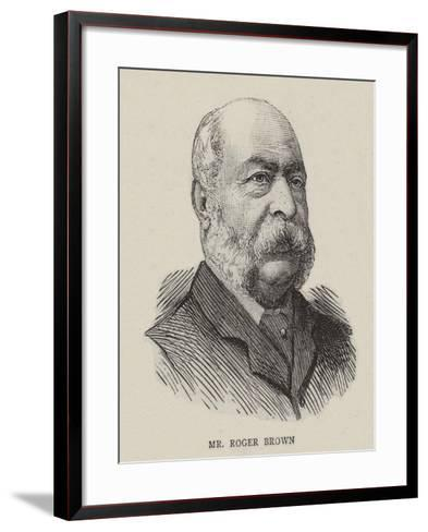 William Roger Brown--Framed Art Print