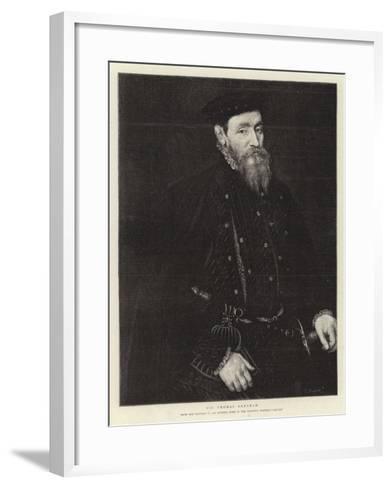 Sir Thomas Gresham--Framed Art Print