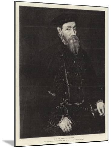 Sir Thomas Gresham--Mounted Giclee Print