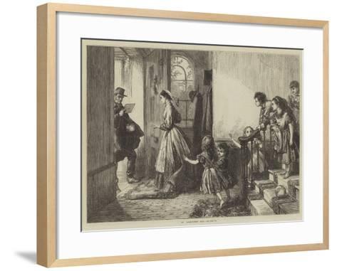St Valentine's Day--Framed Art Print