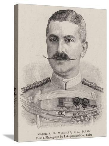 Major F R Wingate--Stretched Canvas Print