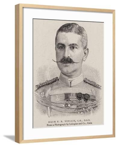 Major F R Wingate--Framed Art Print