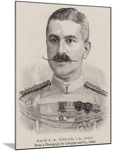 Major F R Wingate--Mounted Giclee Print