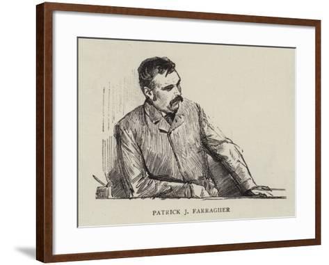 Patrick J Farragher--Framed Art Print