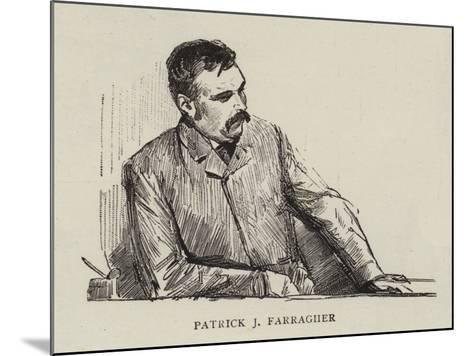 Patrick J Farragher--Mounted Giclee Print