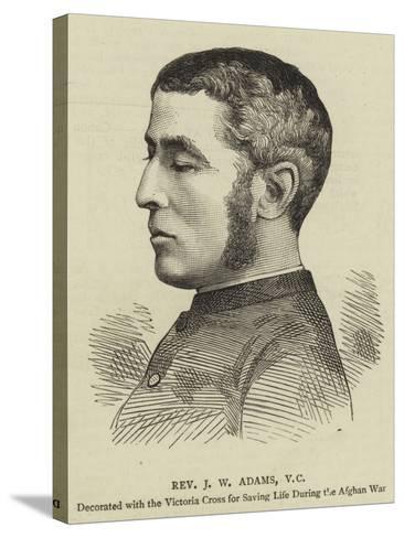 Reverend J W Adams--Stretched Canvas Print