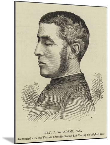 Reverend J W Adams--Mounted Giclee Print