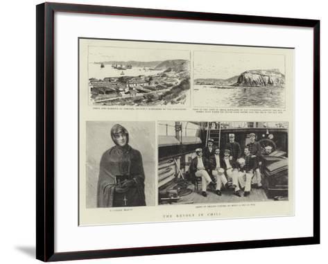 The Revolt in Chili--Framed Art Print