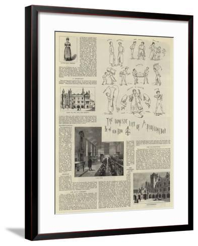 Christ's Hospital--Framed Art Print