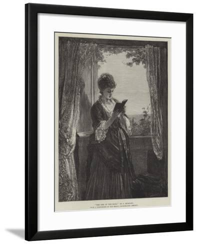 The End of the Book--Framed Art Print