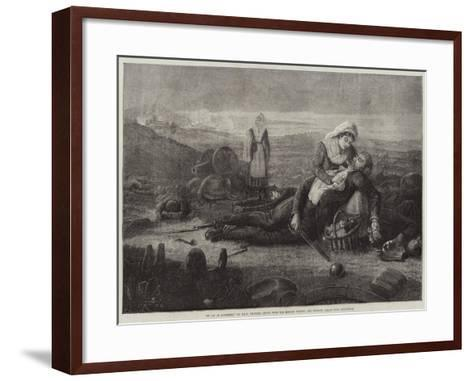 In Aid of Sufferers--Framed Art Print