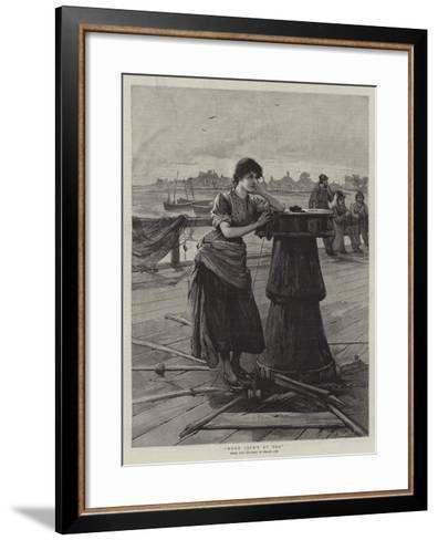When Jack's at Sea--Framed Art Print