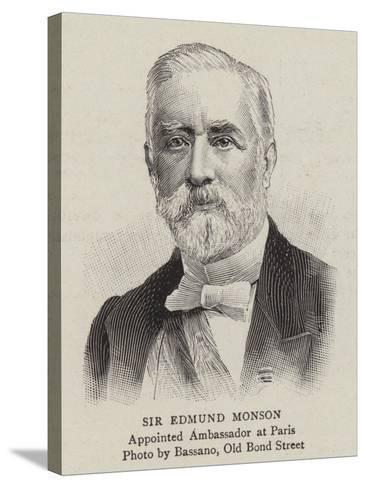 Sir Edmund Monson--Stretched Canvas Print