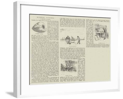 Science Jottings--Framed Art Print