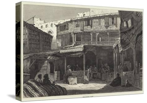 The Bazaar, Cairo--Stretched Canvas Print