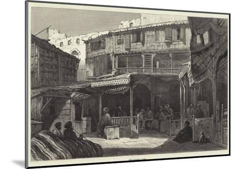 The Bazaar, Cairo--Mounted Giclee Print
