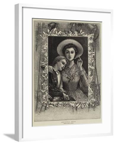 Christmas Bells--Framed Art Print