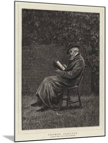 Thomas Carlyle--Mounted Giclee Print