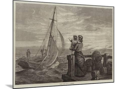 Good Night--Mounted Giclee Print