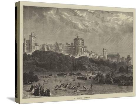Windsor Castle--Stretched Canvas Print