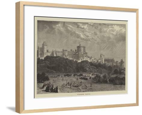 Windsor Castle--Framed Art Print