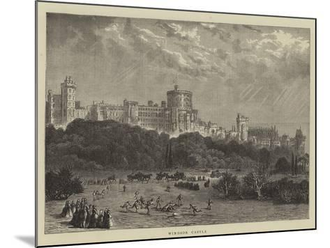 Windsor Castle--Mounted Giclee Print