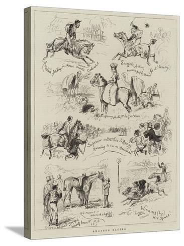 Amateur Racing--Stretched Canvas Print