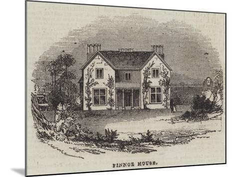 Finnoe House--Mounted Giclee Print