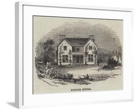 Finnoe House--Framed Art Print