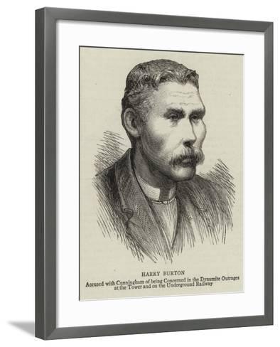 Harry Burton--Framed Art Print
