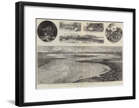 On the Congo--Framed Art Print