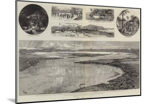 On the Congo--Mounted Giclee Print