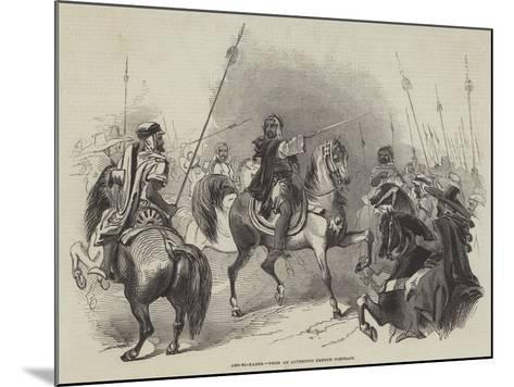 Abd-El-Kader--Mounted Giclee Print