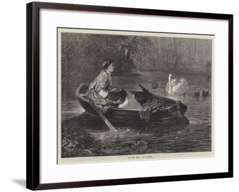 On the River--Framed Art Print