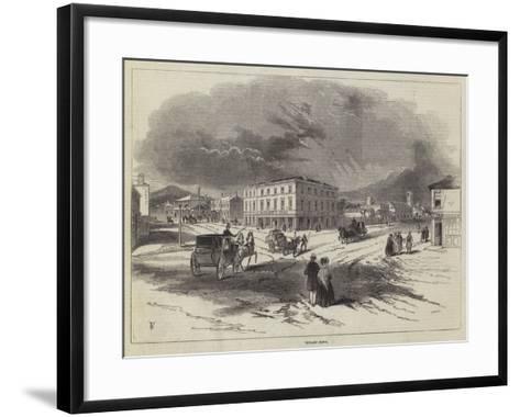 Hobart Town--Framed Art Print