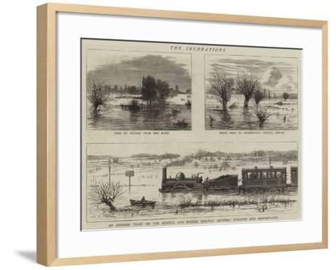 The Inundations--Framed Art Print