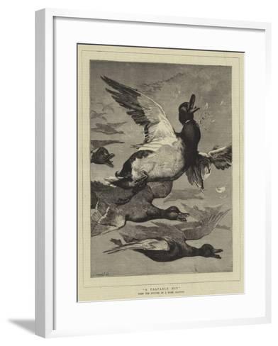 A Palpable Hit--Framed Art Print